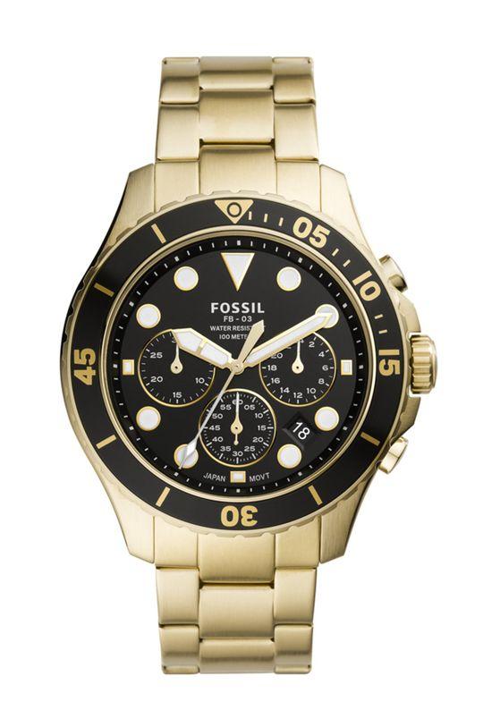 золотий Fossil - Годинник FS5727 Чоловічий