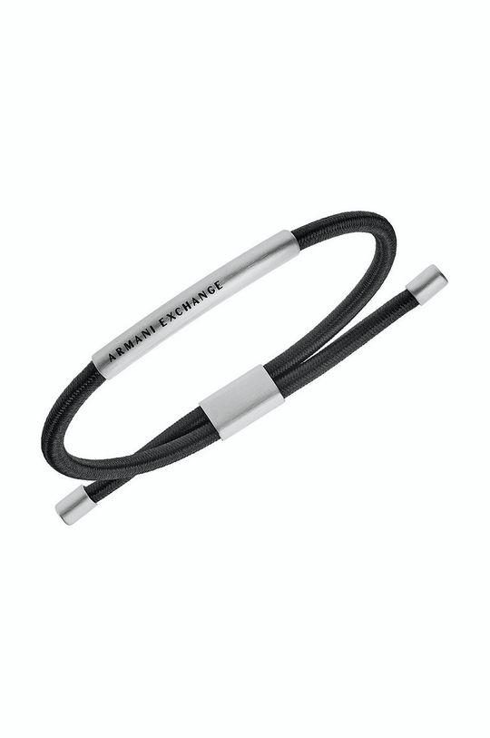 Armani Exchange - Браслет чёрный