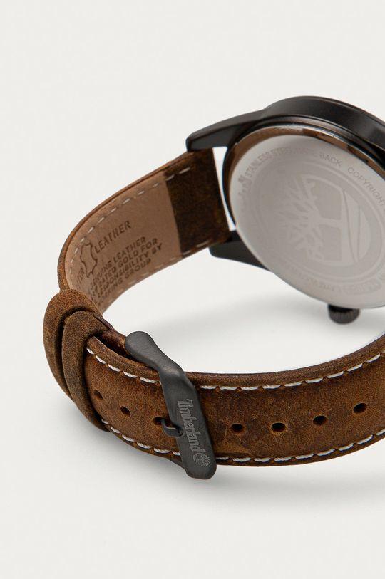 Timberland - Zegarek Rockbridge ciemny brązowy