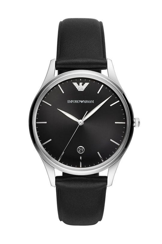 czarny Emporio Armani - Zegarek AR11287 Męski