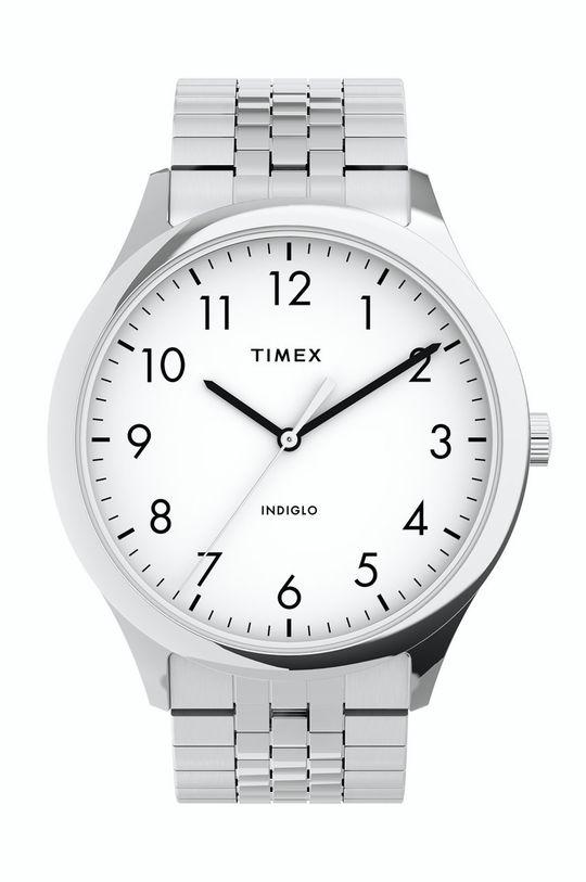 срібний Timex - Годинник TW2U39900 Чоловічий