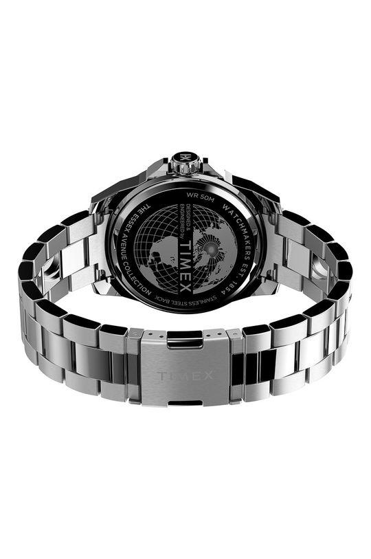 srebrny Timex - Zegarek TW2U42600