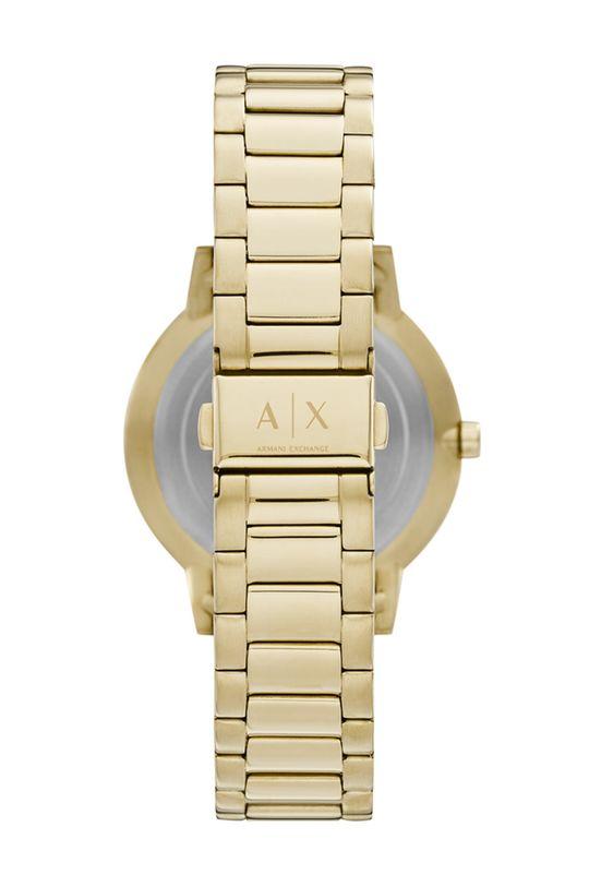 Armani Exchange - Hodinky a náramek AX7119 zlatá