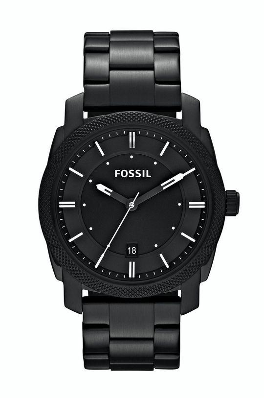 čierna Fossil - Hodinky FS4775IE Pánsky