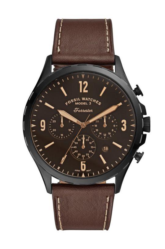 коричневий Fossil - Годинник FS5608 Чоловічий