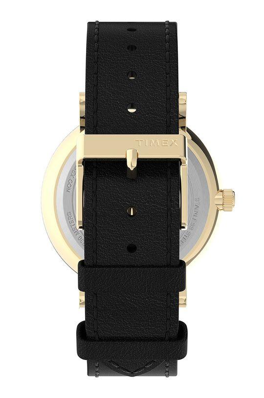 Timex - Zegarek TW2U67600 Skóra naturalna, Stal, Szkło mineralne