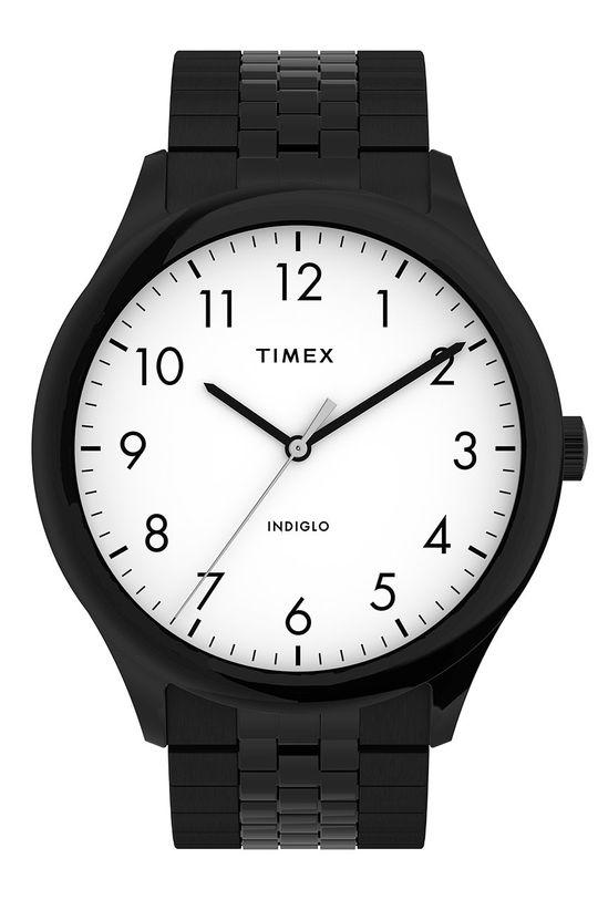 čierna Timex - Hodinky TW2U39800 Pánsky