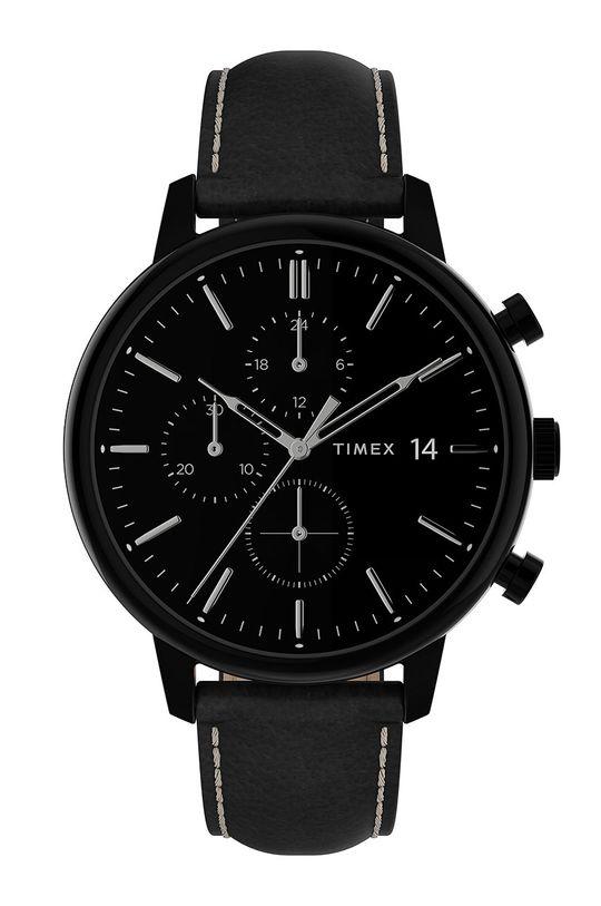 чорний Timex - Годинник TW2U39200 Чоловічий