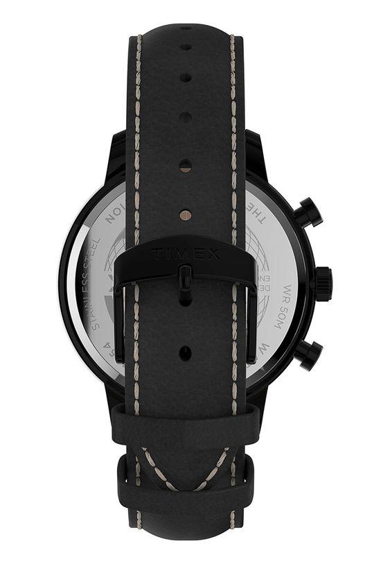 Timex - Годинник TW2U39200  Натуральна шкіра, Сталь, Мінеральне скло