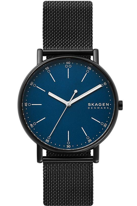 czarny Skagen - Zegarek SKW6655 Męski
