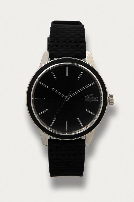 czarny Lacoste - Zegarek Paris 2011087 Męski