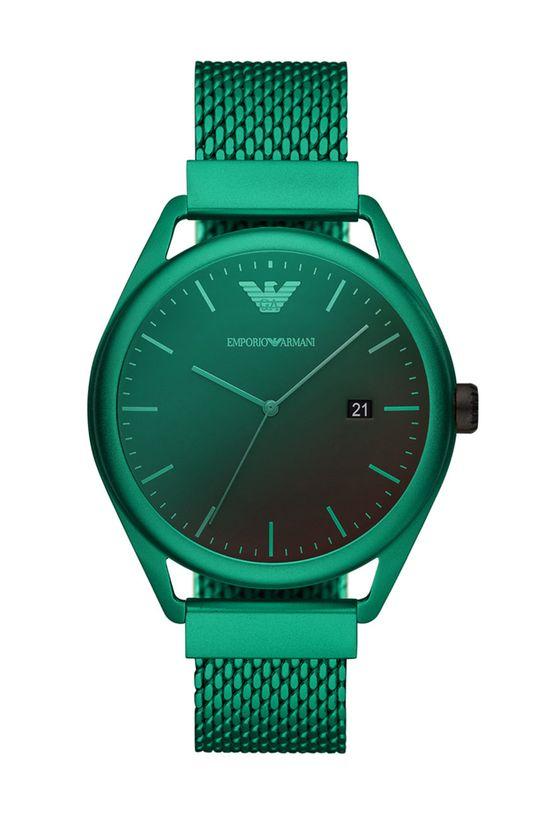 zielony Emporio Armani - Zegarek AR11326 Męski