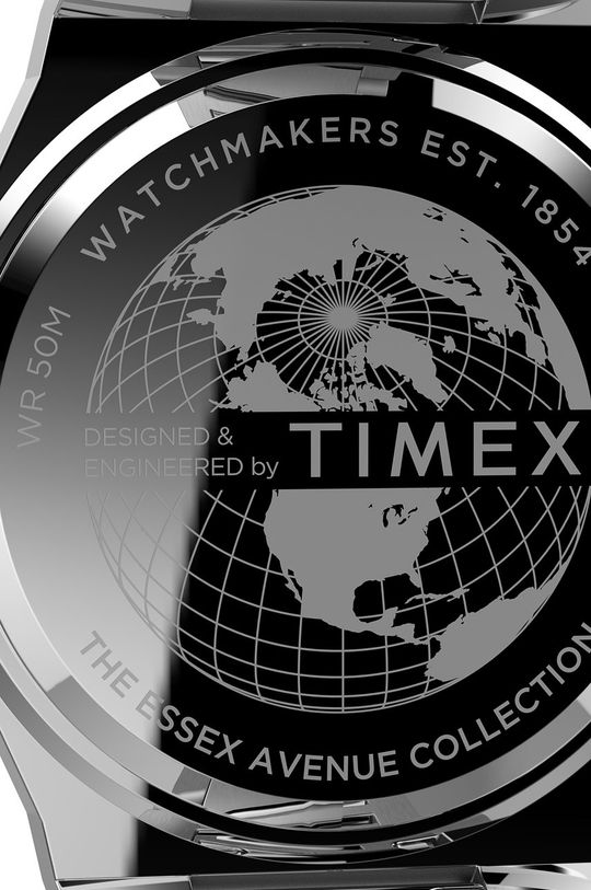 srebrny Timex - Zegarek TW2U42400