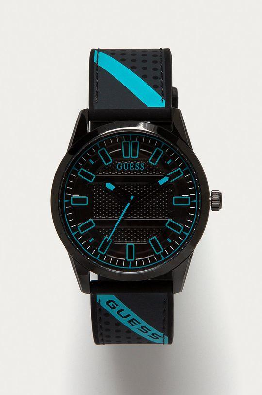 czarny Guess - Zegarek W1300G3 Męski