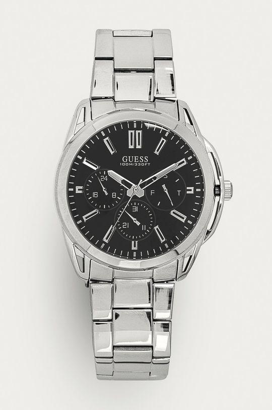 srebrny Guess - Zegarek W1176G2 Męski