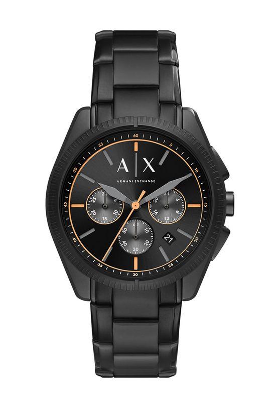 czarny Armani Exchange - Zegarek AX2852 Męski