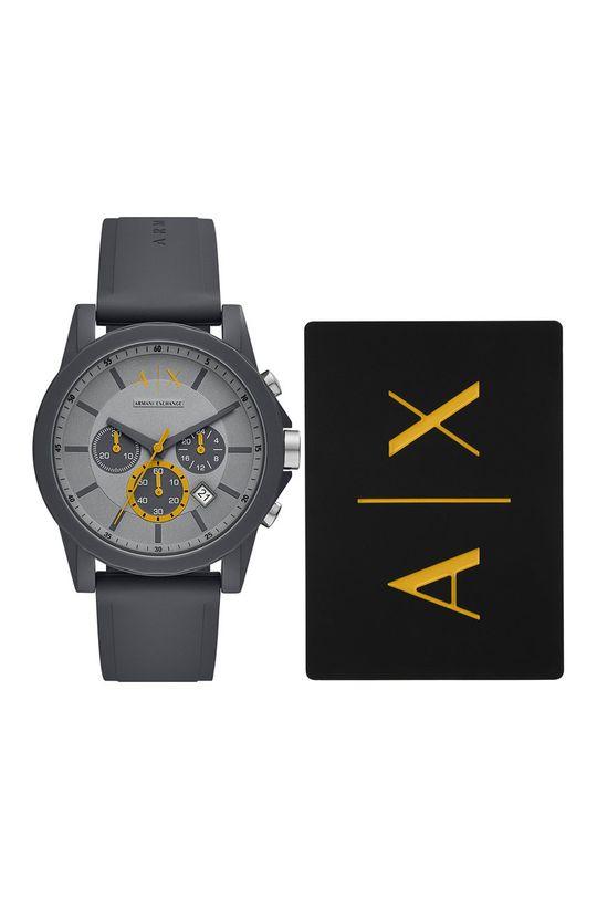 szary Armani Exchange - Zegarek AX7123 Męski