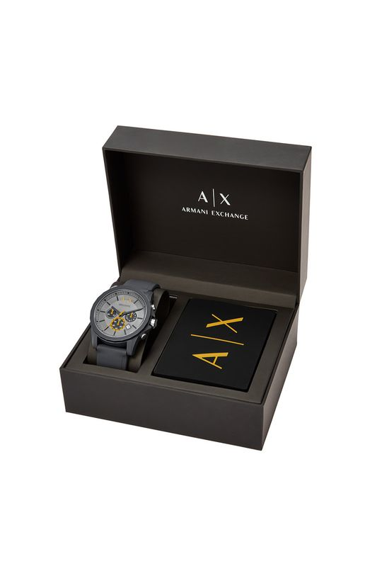 szary Armani Exchange - Zegarek AX7123
