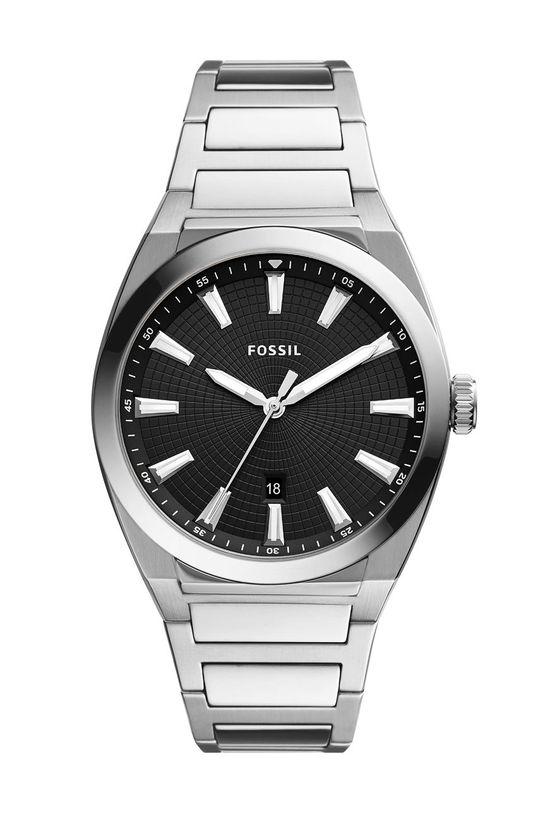 stříbrná Fossil - Hodinky FS5821 Pánský
