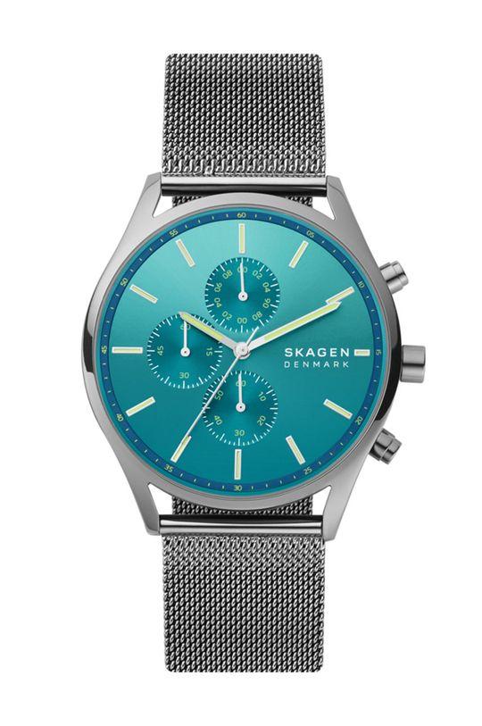 srebrny Skagen - Zegarek SKW6734 Męski