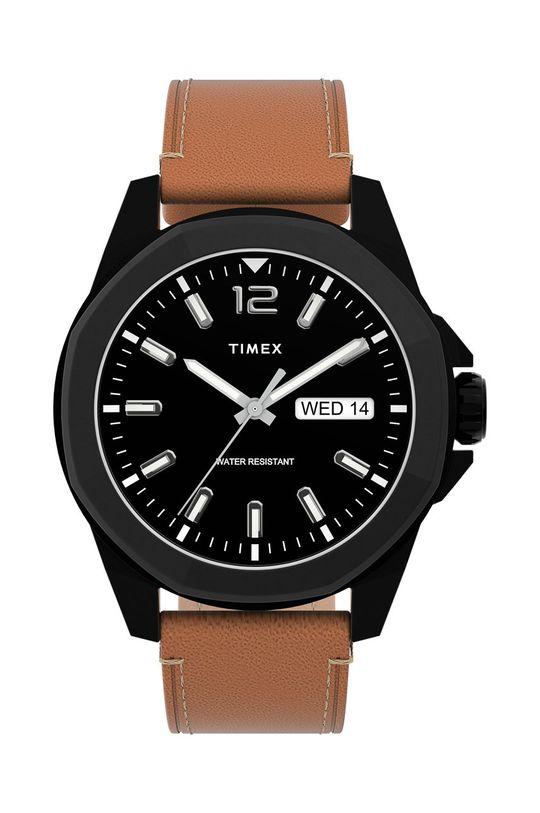 černá Timex - Hodinky TW2U15100 Pánský