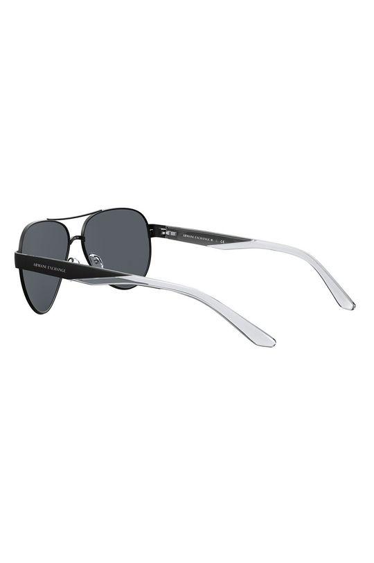černá Armani Exchange - Sluneční brýle