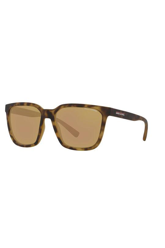 hnedá Armani Exchange - Slnečné okuliare 0AX4108S Pánsky