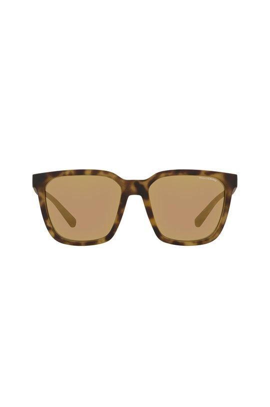 Armani Exchange - Slnečné okuliare 0AX4108S hnedá