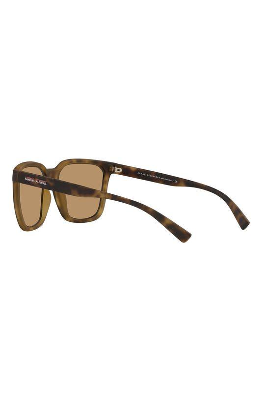 hnedá Armani Exchange - Slnečné okuliare 0AX4108S