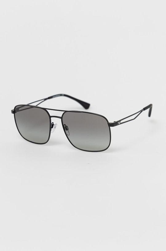 černá Emporio Armani - Sluneční brýle 0EA2106 Pánský