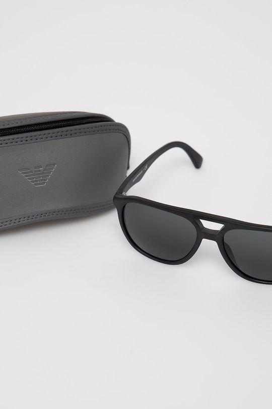 czarny Emporio Armani - Okulary przeciwsłoneczne 0EA4156
