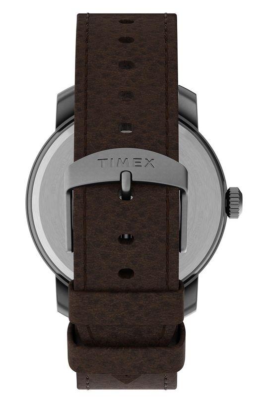 Timex - Hodinky TW2U15300  Přírodní kůže, Nerezová ocel, Minerální sklo