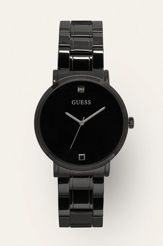 černá Guess - Hodinky W1315G3 Pánský