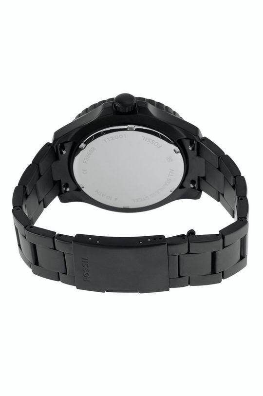 czarny Fossil - Zegarek FS5688