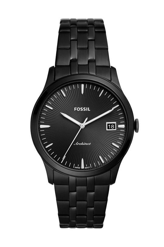 čierna Fossil - Hodinky FS5647 Pánsky