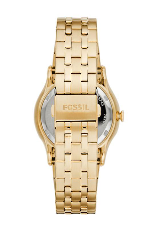 Fossil - Zegarek FS5745 złoty