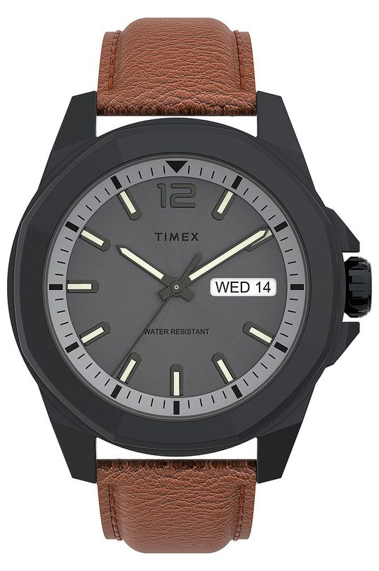 šedá Timex - Hodinky TW2U82200 Pánský