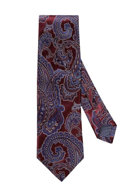 czerwony ETON - Krawat Męski