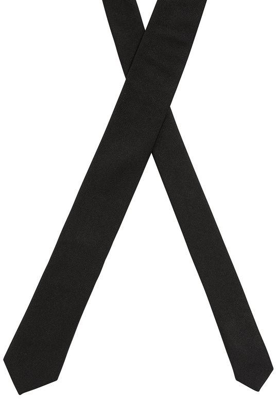 Boss - Krawat 100 % Jedwab