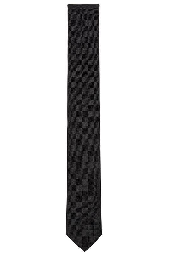 czarny Boss - Krawat