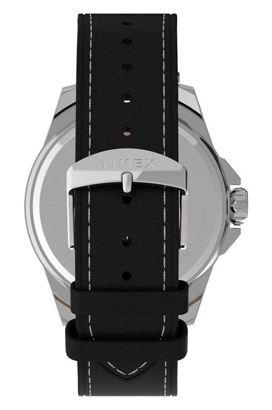 Timex - Zegarek TW2U14900 Metal, Skóra naturalna, Szkło mineralne