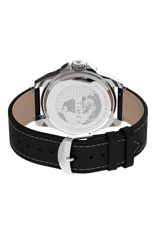 srebrny Timex - Zegarek TW2U14900