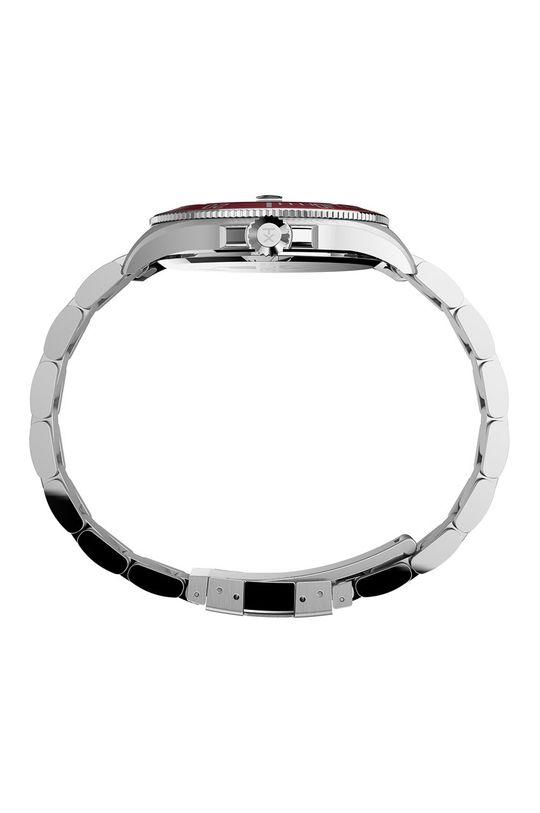 Timex - Zegarek TW2U41700 srebrny
