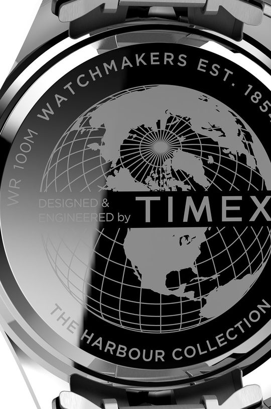 srebrny Timex - Zegarek TW2U41700