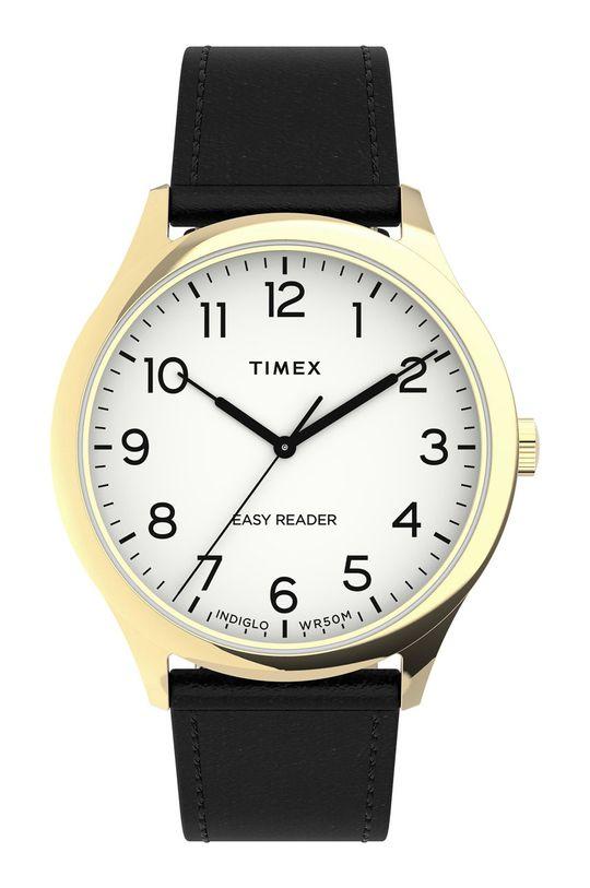 złoty Timex - Zegarek TW2U22200 Męski