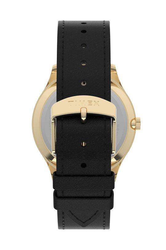 Timex - Hodinky TW2U22200  Kov, Přírodní kůže, Minerální sklo