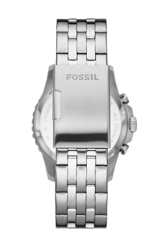 Fossil - Hodinky FS5827 stříbrná