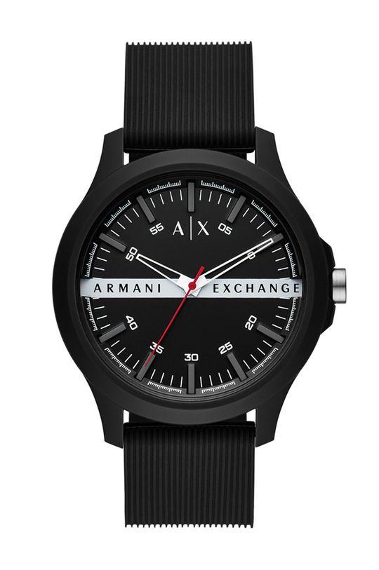 czarny Armani Exchange - Zegarek AX2420 Męski