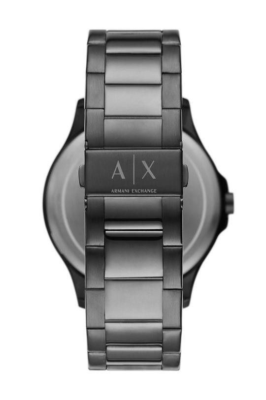 Armani Exchange - Zegarek i bransoletka AX7127 grafitowy