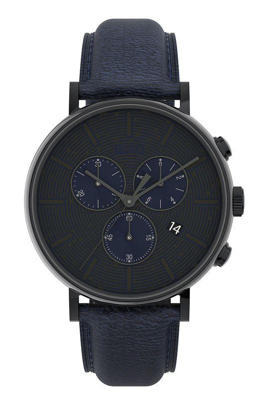 czarny Timex - Zegarek TW2U88900 Męski